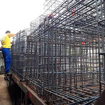 Aço para Fundação na Ponte Rasa
