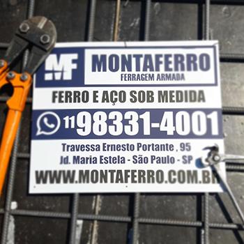 Corte & dobra de vergalhão no Ibirapuera